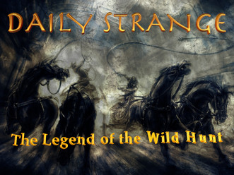 Daily Dark: The Legend of the Wild Hunt