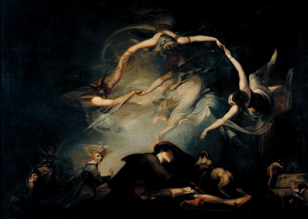 Henry Fuseli The Shepherd's Dream, from 'Paradise Lost' 1793