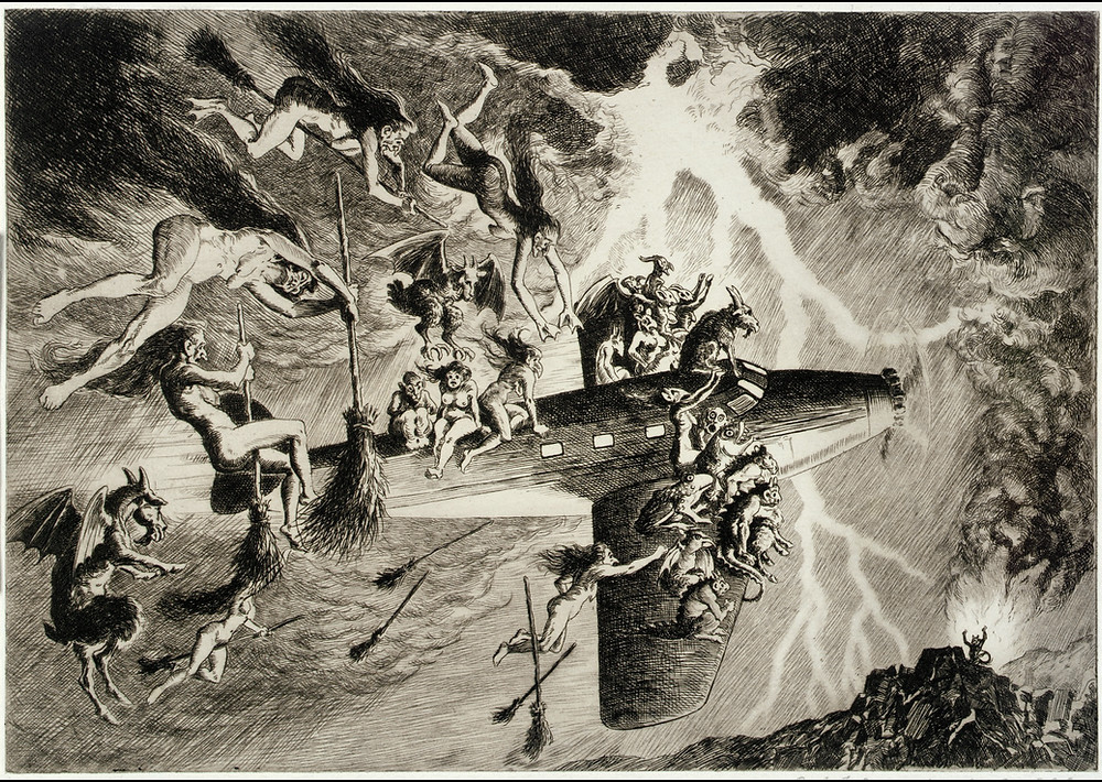 The Witches' Sabbath à la Mode