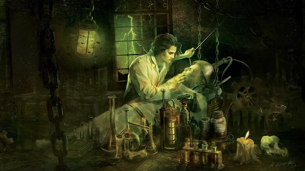 horror loving story of the monster