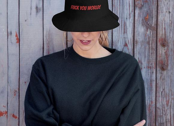Fuck You World Bucket Hat