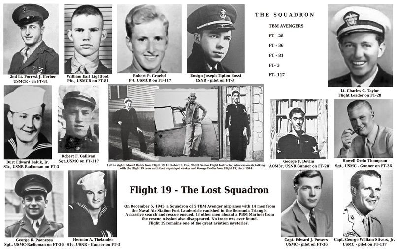 This Day in History: Dec 5, 1945: Aircraft squadron lost in the Bermuda Triangle