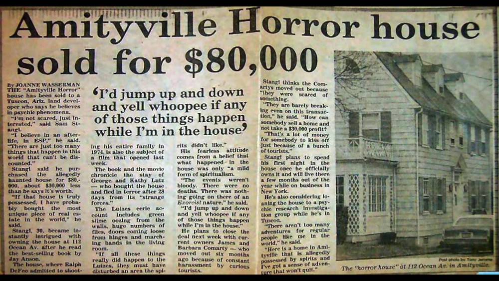 News About The Amityville Horror House