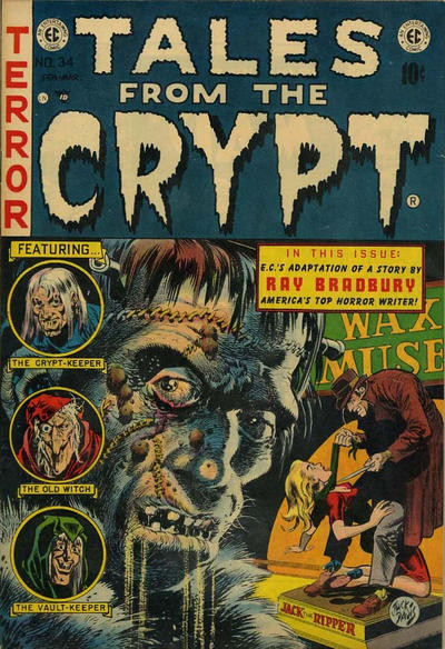 Mirror, Mirror, On The Wall (Tales From The Crypt #34, 1953, EC Comics