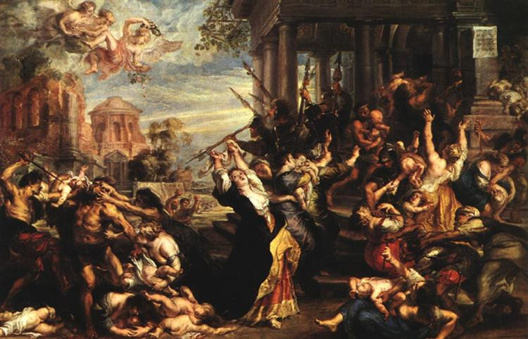 Massacre of the Innocents Peter Paul Rubens 1637