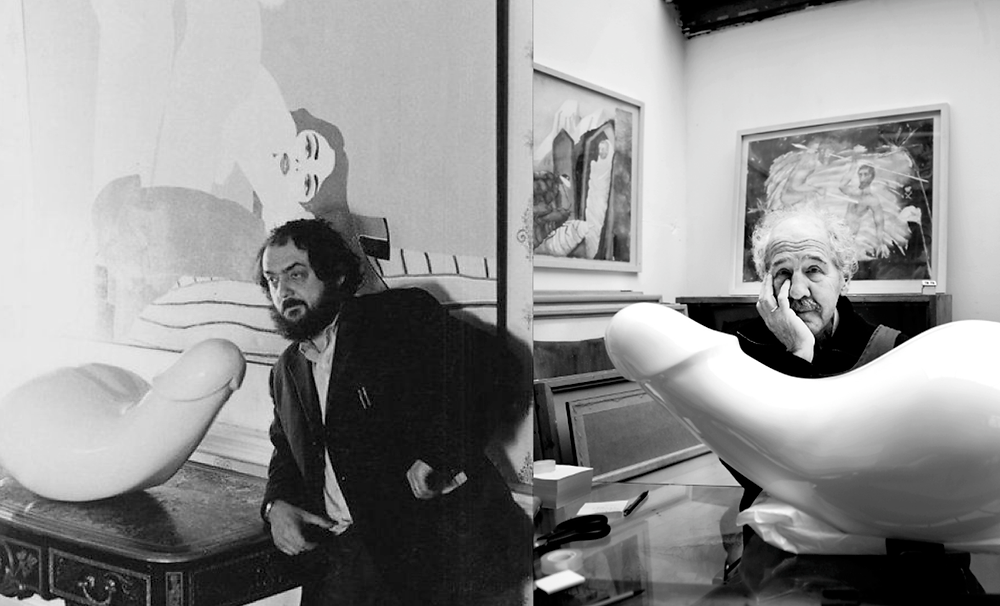 Kubrick's  Interesting pic from the movie set