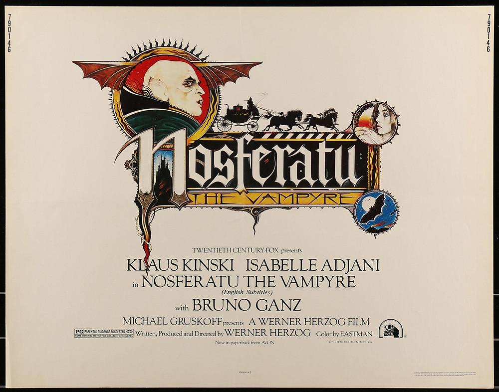 Nosferatu 1979 Art Poster