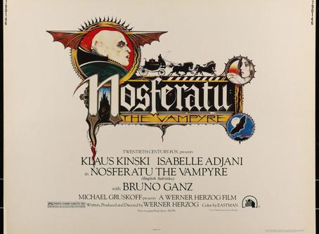 The VAMP TERROR FROM WERNER HERZOG: Nosferatu: Phantom der Nacht, 1979