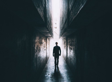 A Man's Tears In The Shadow (Paranormal Happenings)