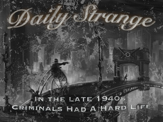 In the late 1940s: Criminals Had A Hard Life