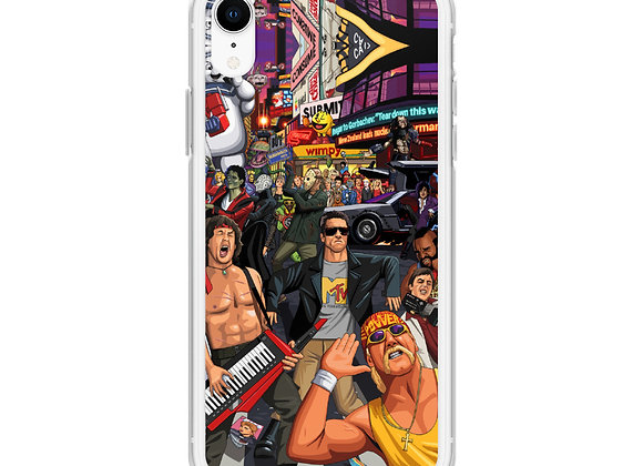 1980's Retro Central All Iphone Model Cases