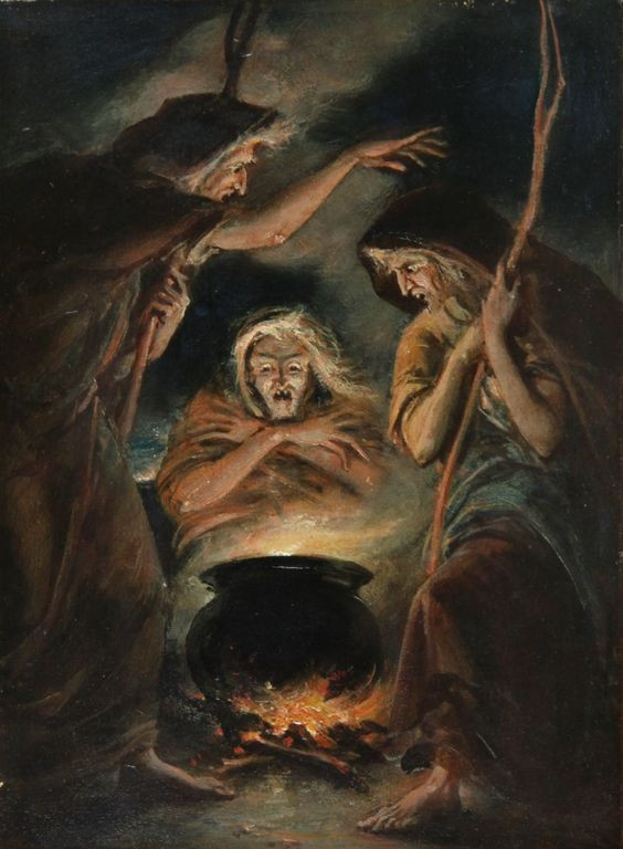 THE WITCHES by WILLIAM EDWARD