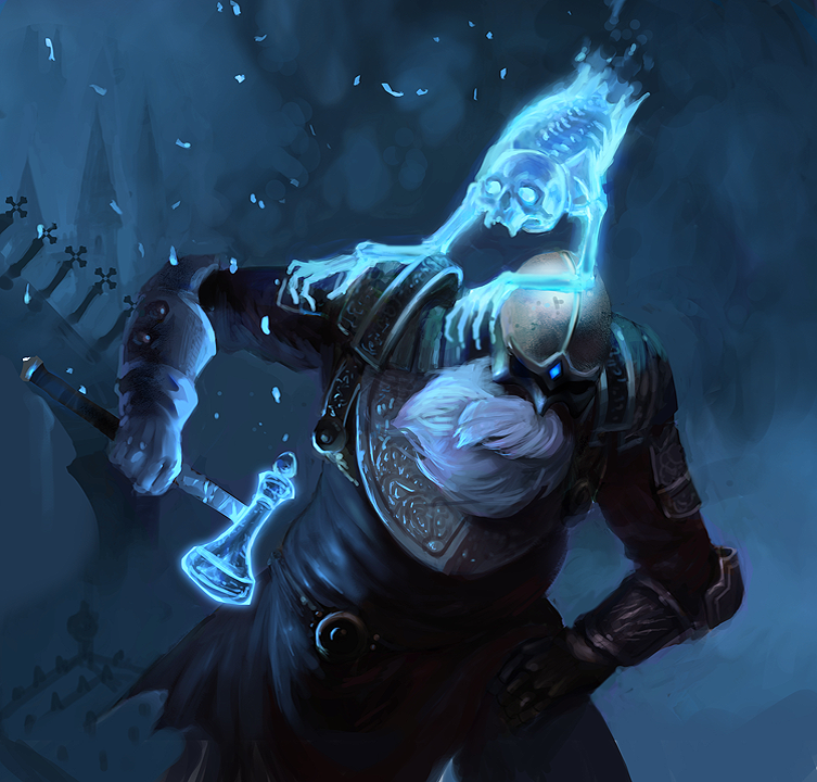 Fantasy Character Ghost Dwarf