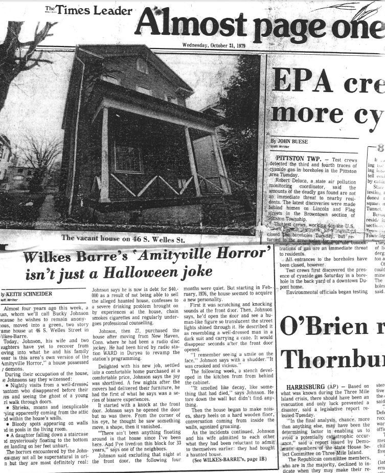 Amityville Newspaper Archive From The Times Leader