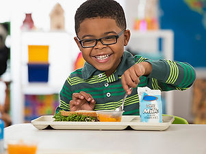 iPlanets Academy school lunches