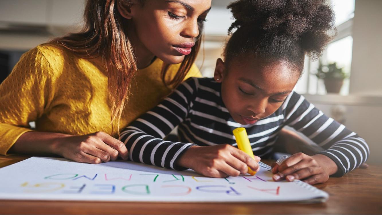 iPlanets Academy parent monitoring her c