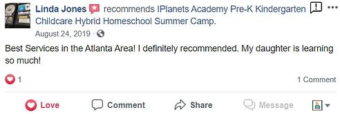 iPLANETS ACADEMY-Linda Jones Review