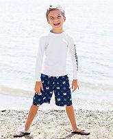 Acceptable long sleeve swimshirt