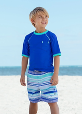Acceptable Board Shorts and Swimshirt