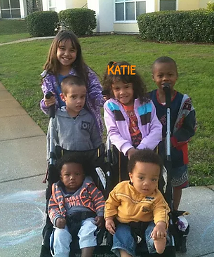 Katie and Friends at iPlanets Academy