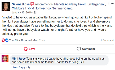 iPLANETS ACADEMY-Selena Rose Review
