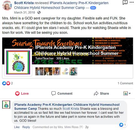 iPLANETS ACADEMY-Krista Scott Review