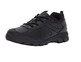 iPlanets Academy SOLID Black Shoes