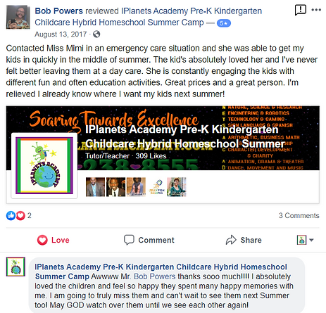iPLANETS ACADEMY-Bob Powers Review