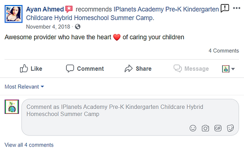 iPLANETS ACADEMY-Ayan Ahmed Review