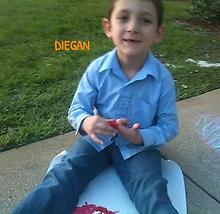 Diegan Chalk Writing at iPlanets Academy