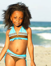 iPlanets Academy in bathing suits with b
