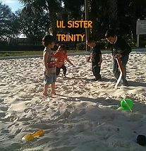 Trinity at the beach with iPlanets Academy