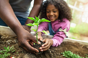 iPlanets Academy kids gardening