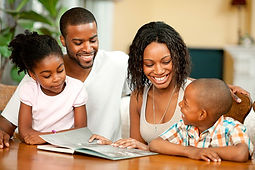 iPlanets Academy-reading with family