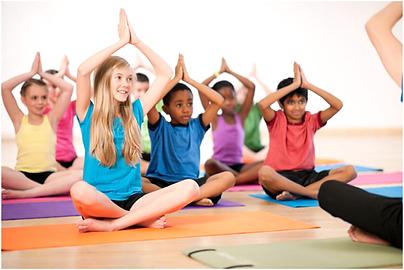 Yoga Calm at iPlanets Academy