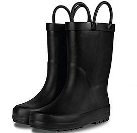 iPlanets Academy SOLID black Rain Boots