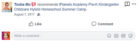 iPLANETS ACADEMY-Tooba Mo Review