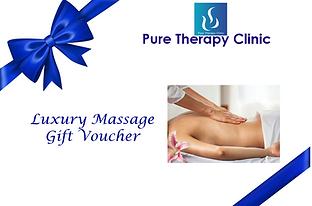 Massage Gift Voucher