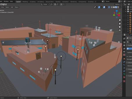 New 3D environment:
