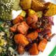 Mango Chutney Roasted Carrots
