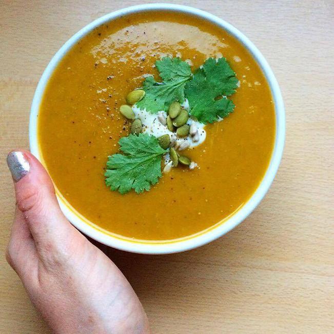 Spiced Butternut Squash Soup