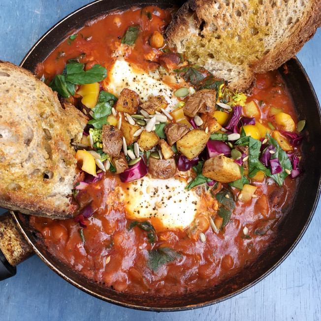 Mexican baked Egg(s)