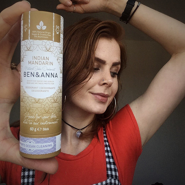 Natural & eco deodorant