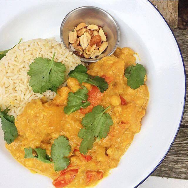 Malaysian-style Peanut Curry