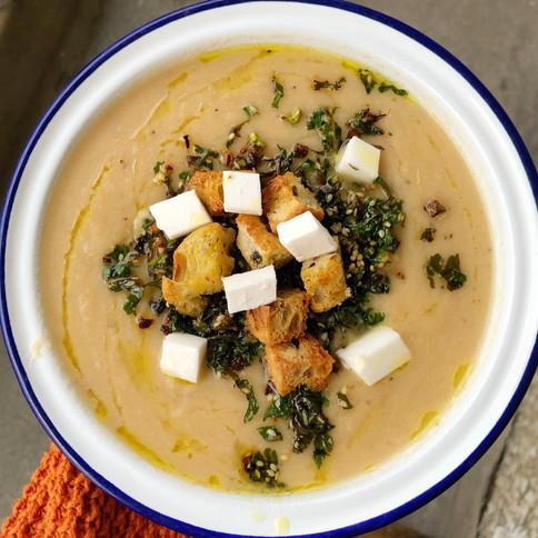 Zesty Celeriac Soup