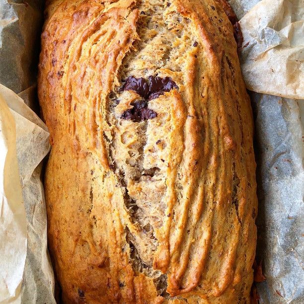 Banana & Choccy Bread