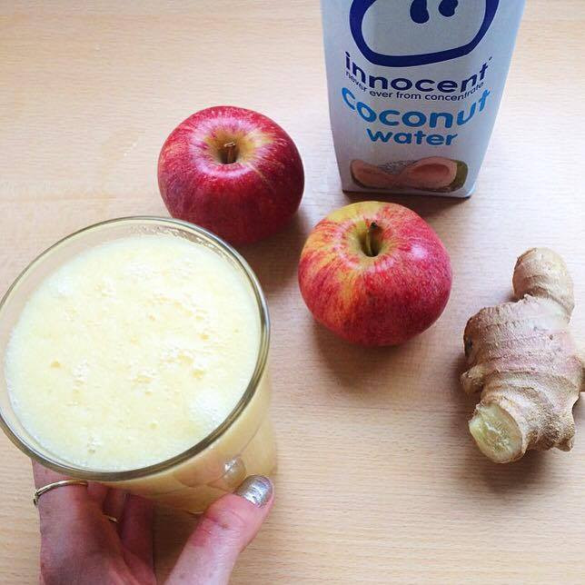 Detoxifying Apple and Ginger Juice