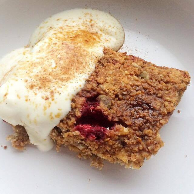 Vegan Breakfast Flapjacks