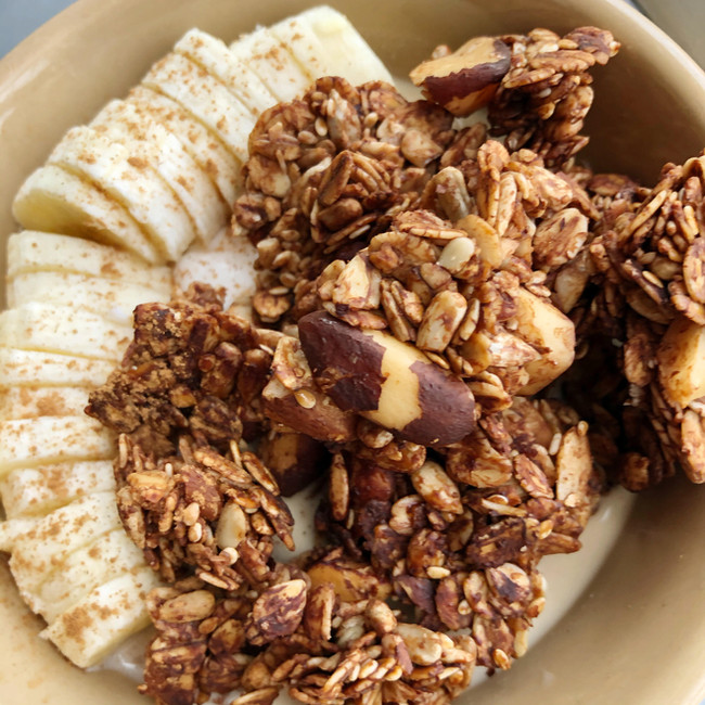 Chocolate & Brazil Nut Crunch Granola
