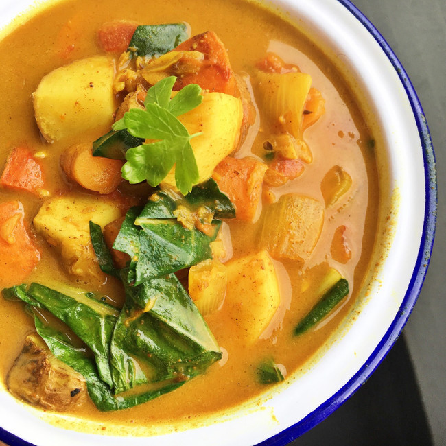Root veg curry